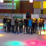 Tunnelspiel auf dem Eis