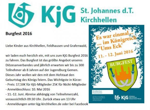 Burgfestflyer 2016